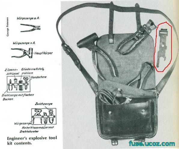 немецкая аперная сумка