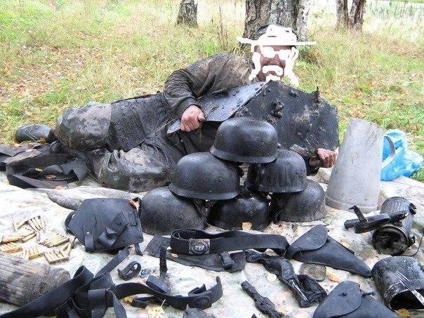 находки чорных копателей