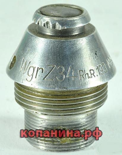 WgrZ34 головные взрыватели минометных мин вермахта