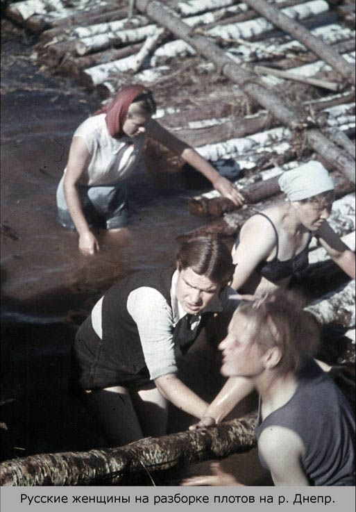 цветные фотографии военного Смоленска
