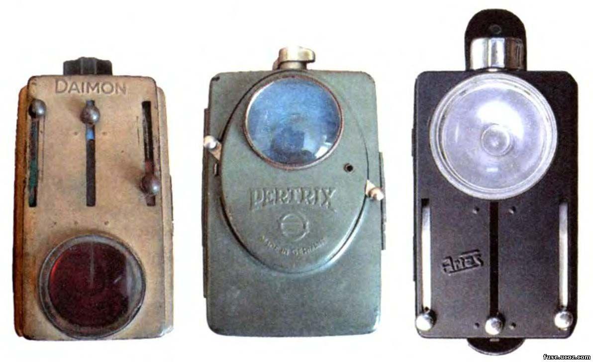Варианты фонариков вермахта