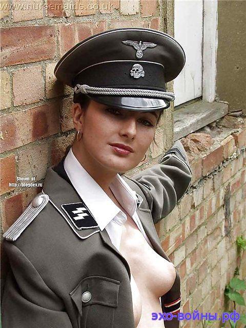 Немецкое порно видео девушки в нацистской форме — img 3